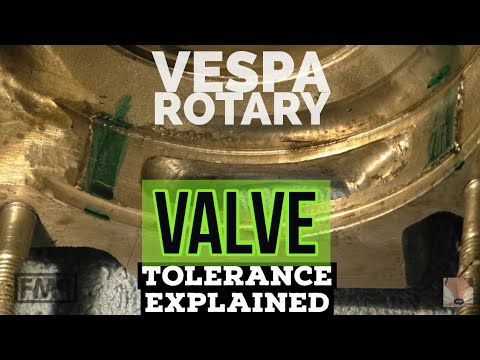 vespa rotary VALVE 0,05mm IMPORTANCE explained / 1x used &2x new RVs / FMPguides - Solid PASSion /