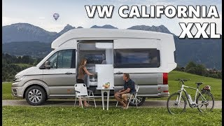 2018 VW California XXL- Highlights & Features