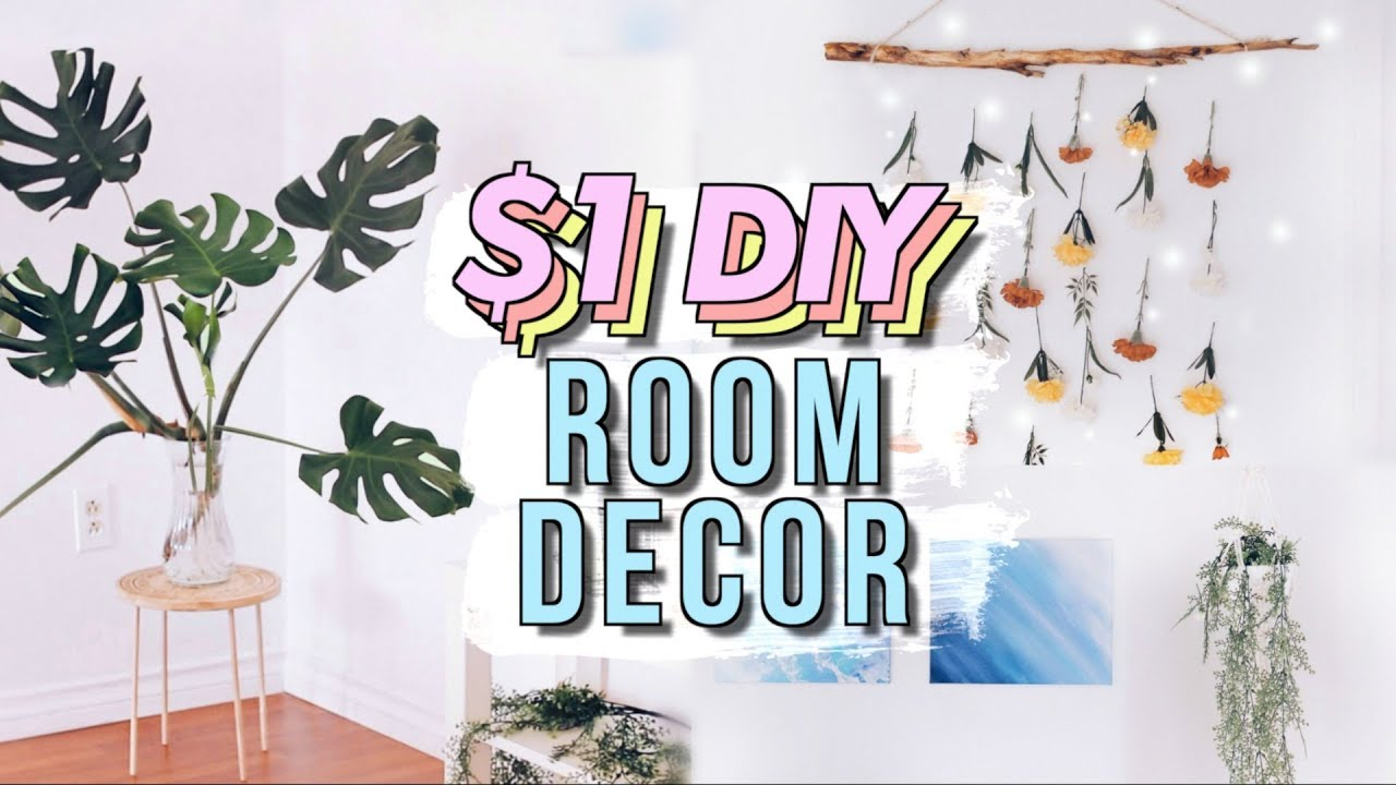 Diy Dollar Store Room Decor Studio Room Makeover Part 3 Jenerationdiy Youtube
