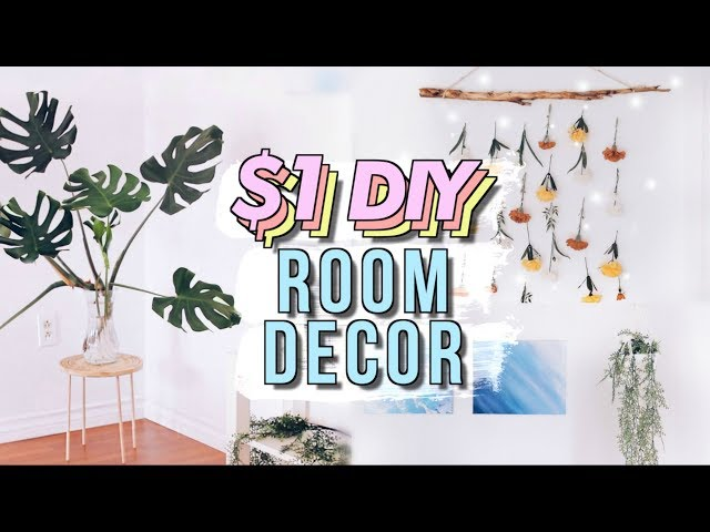DIY Dollar Store Room Decor Studio Makeover Part 3