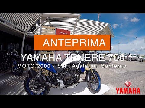 Anteprima Yamaha Teneré 700 Da Moto 2000 / 2019 Yamaha Teneré 700 First Look