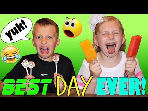 April Fools Pranking Our Kids - Meatball Cake Pops & Spicy Popsicles - GROSS!!