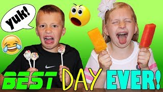 April Fools Pranking Our Kids - Meatball Cake Pops & Spicy Popsicles - GROSS!! thumbnail