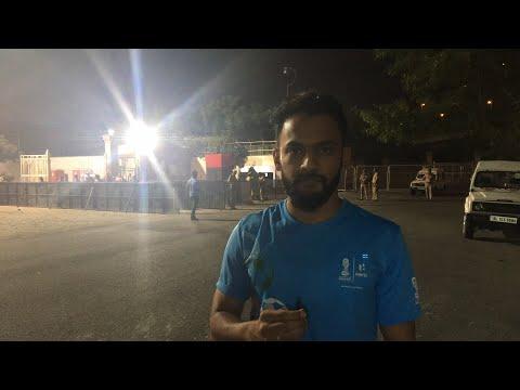 Live- India vs Ghana live action from JLN Stadium| Sports Tak