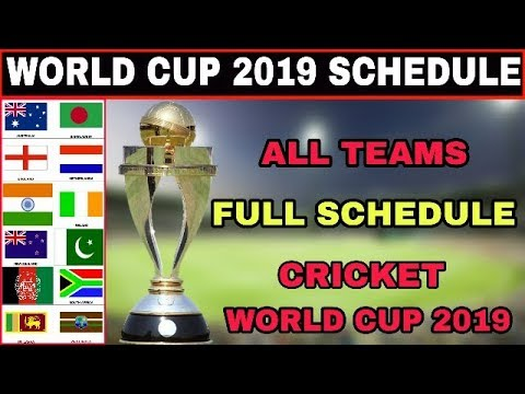 Pick the world cup scores 2019 time table list pdf
