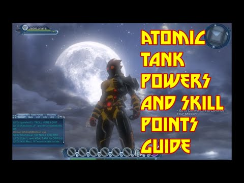 THE TOUGHEST ATOMIC TANK - Powers and Skill Points Speccing Guide - DCUO