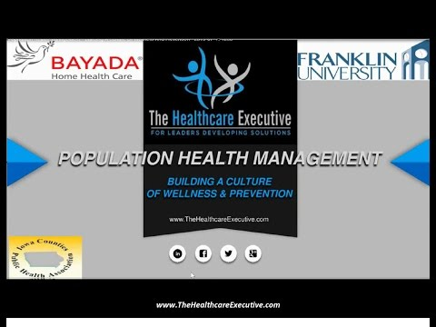 Population Health Management: Building A Culture Of Wellness And Prevention