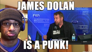 JAMES DOLAN BANS CHARLES OAKLEY FROM MSG! Punk-ass owner of the Knicks discusses drama (REACTION)