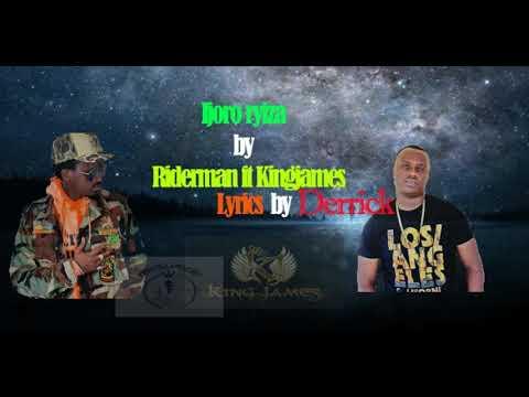 Ijoro ryiza Official lyrics video by riderman and kingjames