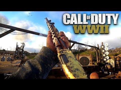 ROAD TO CHROME (GOLD COMBAT SHOTGUN) - Call of Duty: WW2 Multiplayer Gameplay LIVE (PS4 PRO)