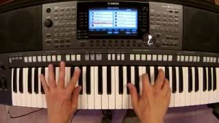 Frenship & Emily Warren - Capsize - piano keyboard synth cover by LIVE DJ FLO