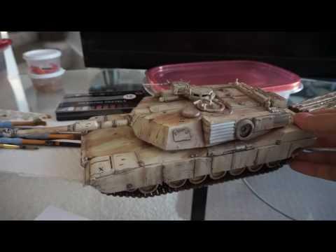 Abrams Tank and Rei Ayanami Resin GK