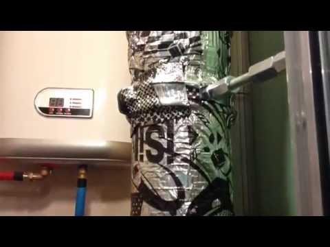 Шумоизоляция стояка канализационной трубы