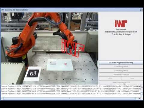 Industrie 4.0 Demo - Telerobotics Augmented Reality