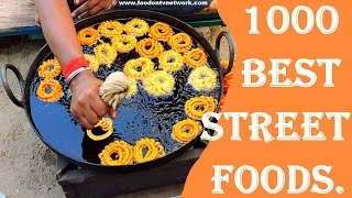 1000 Most Amazing Street Food in India Compilation | Amazing Cooking Skills