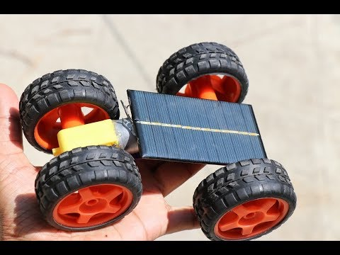 Make Solar Car at Home Easy | Simple Science Project Idea | Best School Project Ideas