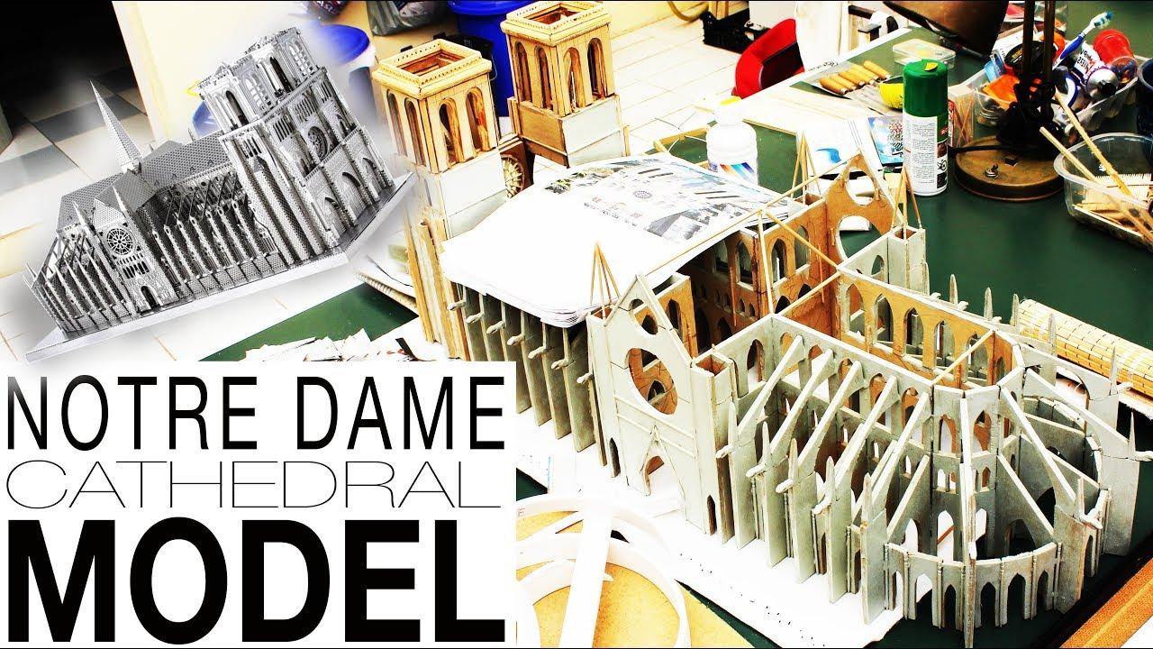 Notre dame cathedral model youtube - Dessiner des rosaces ...