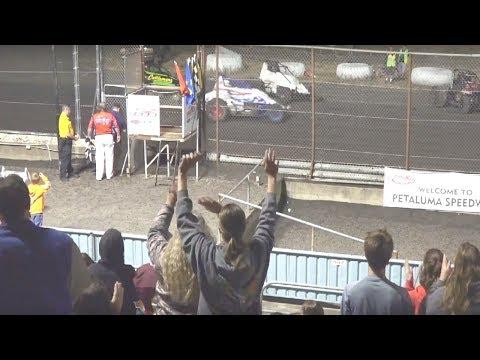 Spec Sprints MAIN 9-9-17 Petaluma Speedway