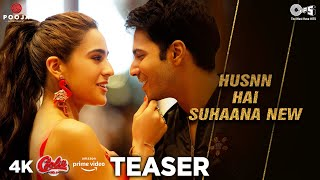 Husnn Hai Suhaana New (Teaser) | Song Out Now | Varun Dhawan | Sara Ali Khan | Coolie No.1