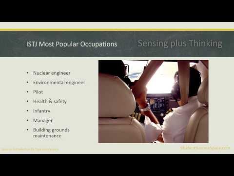 MBTI ISTJ Careers