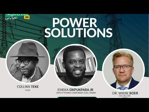 Monday, 31st August, 2020, Guest - Emeka Okpukpara Jr, Deputy Power Component Lead, UKNAIF