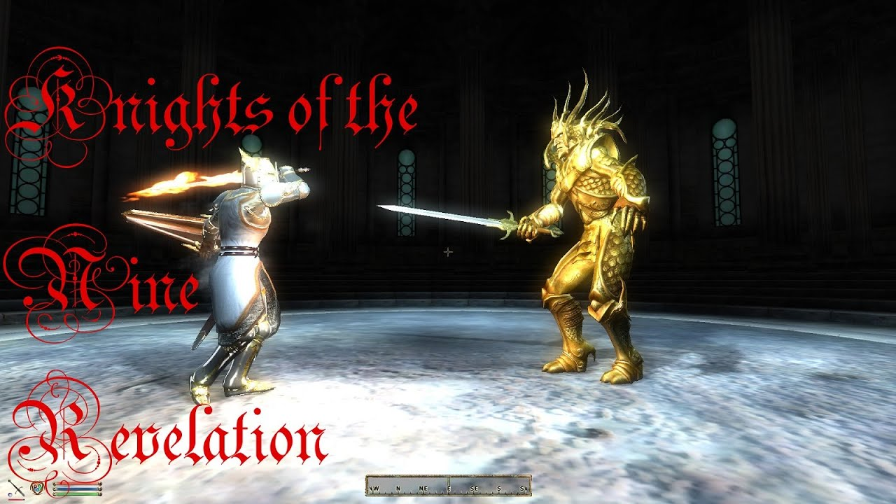 how to start knights of the nine