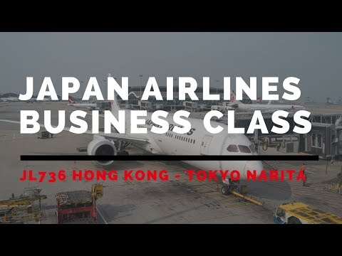 Japan Airlines JL736 Hong Kong - Tokyo Narita Business Class Flight Review