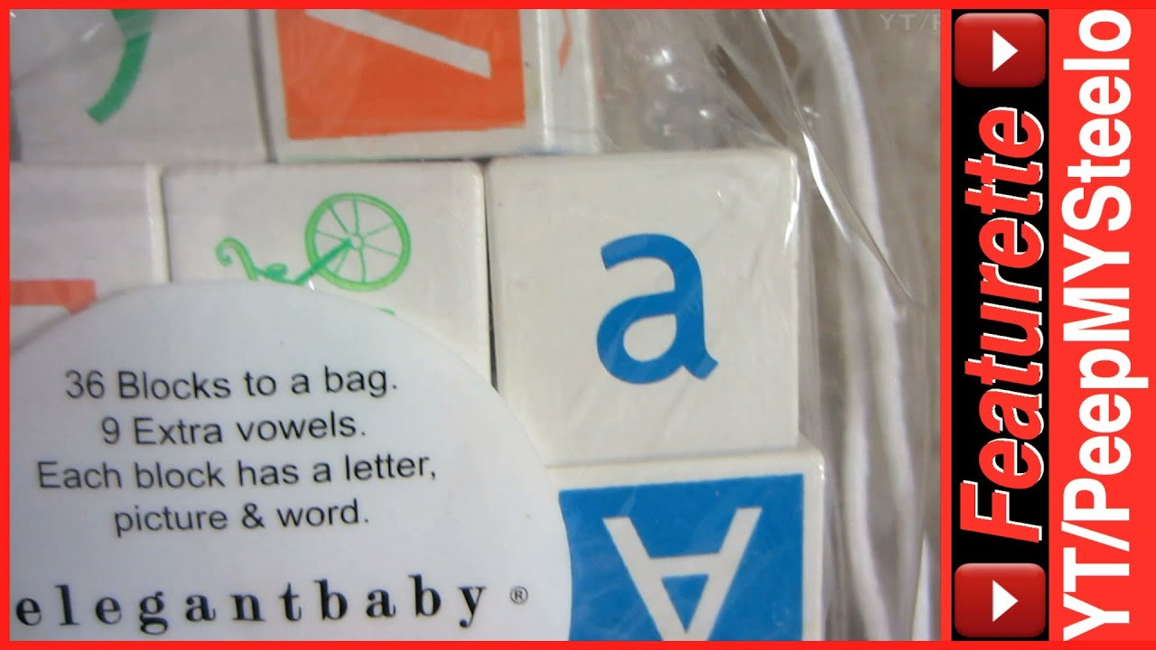 Alphabet Letter ABC Blocks For Baby & Kids as Children s