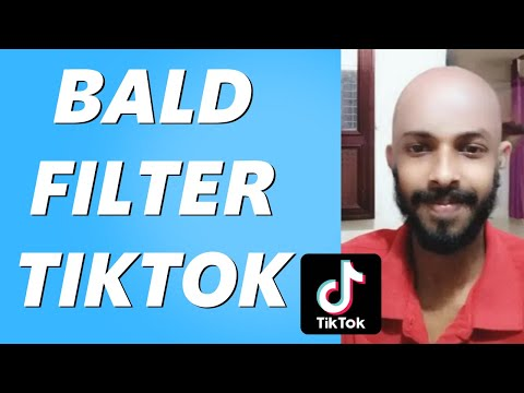 How to Get the Bald Head Filter on TikTok! (Easy 2021)