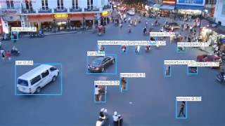 Vehicle detection with yolov3 and ssd