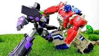 Игры #Трансформеры  Десептиконы захватили ЭНЕРГОН Атака #Автоботы Видео игрушки для мальчиков