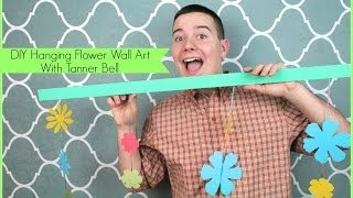 Diy Hanging Flower Wall Art | Sizzix Teen Diy Craft