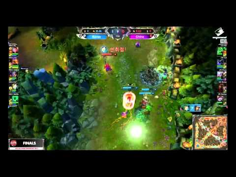 lol all star shanghai 2013 korea highlight