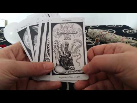 The Hermetic Tarot By Godfrey Dawson Full Review All 78 Cards Shown