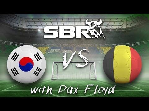 2014 World Cup Betting: South Korea vs Belgium