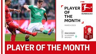 SV Werder Bremen's Max Kruse - Your Player of the Month March!