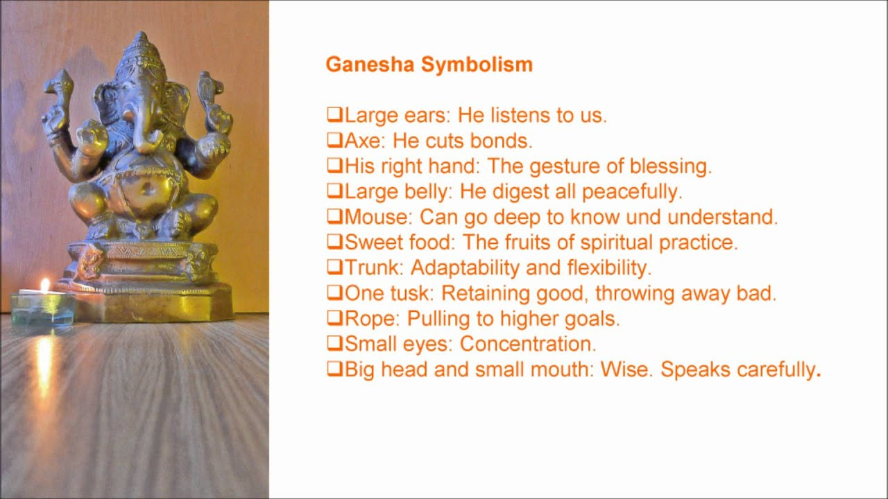 Ganesha his symbolism and mantra youtube ganesha his symbolism and mantra buycottarizona