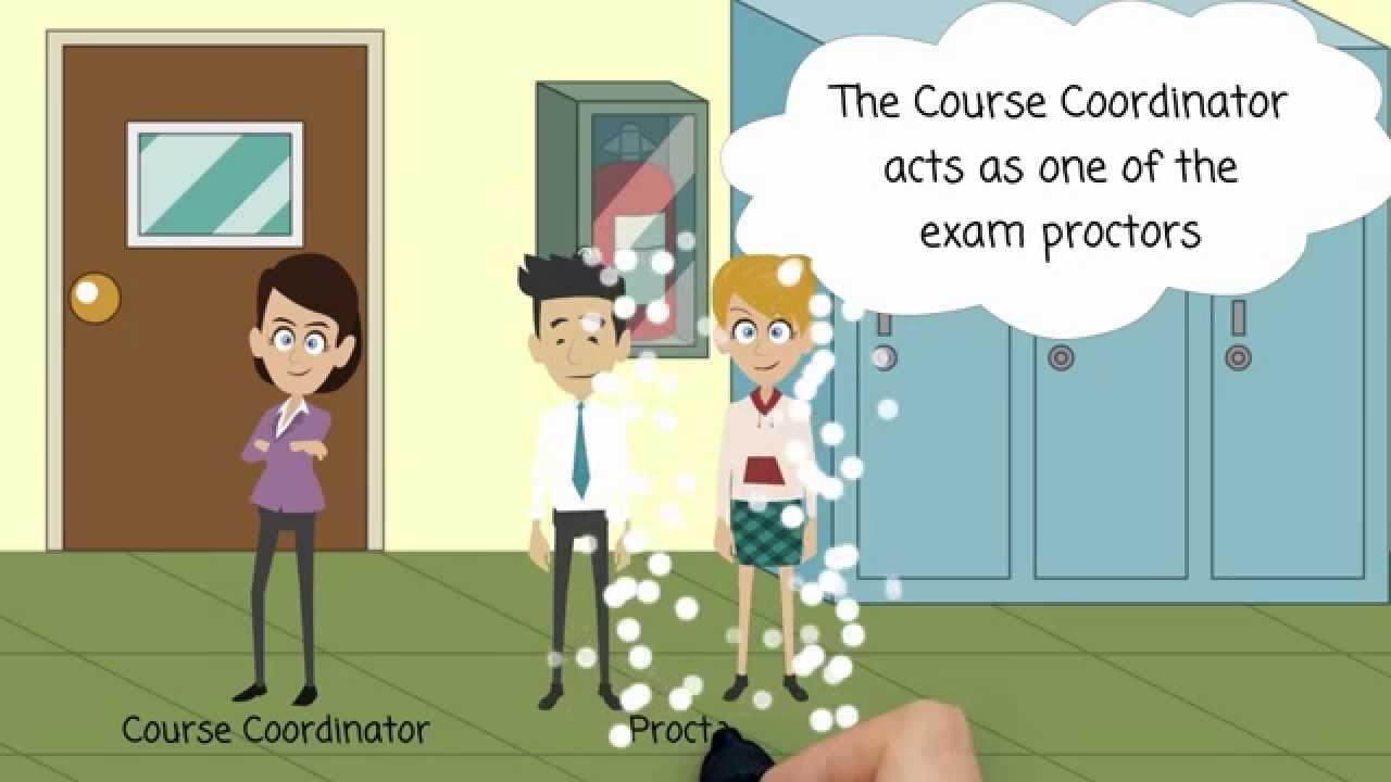 Proctor responsibilities before an exam