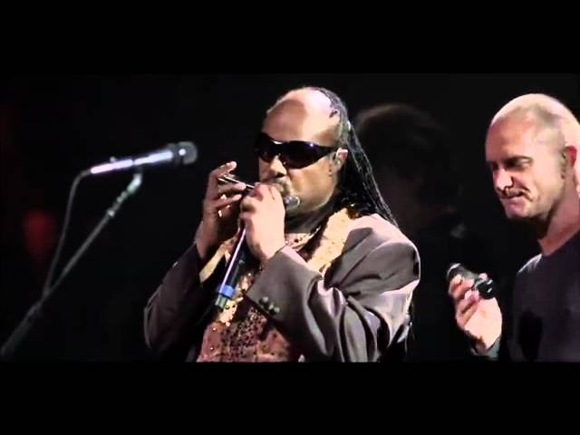 Fragile | Sting's 60 Birthday Party Featuring Stevie Wonder