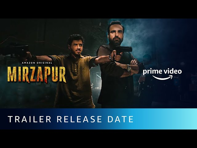 Mirzapur 2 Trailer - Date Announcement | Pankaj Tripathi, Divyenndu | Amazon Original