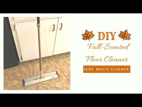 DIY Fall-Scented Floor Cleaner