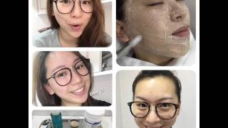 Model Stella Yeung Korean BB Foundation Whitening Treatment Comparison