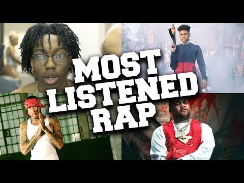 Top 100 Most Listened Rap Songs in July 2019