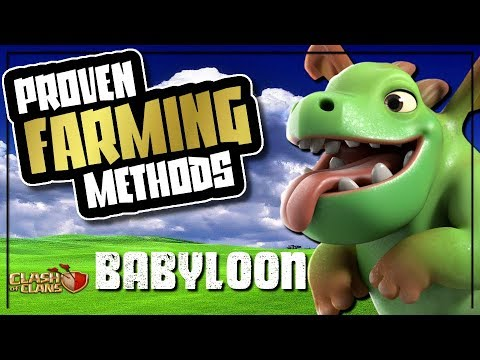 BABYLOON - TH9 FARMING STRATEGY | PROVEN FARMING METHODS | Clash of Clans