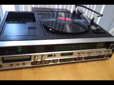 Sears Solid State Am Fm Stereo Receiver System 8 Track
