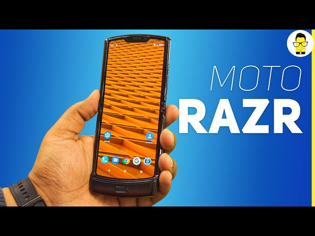 Motorola Razr unboxing - when past meets the future!