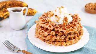 WAFFLES 5 Delicious Ways | Happy Waffle Day