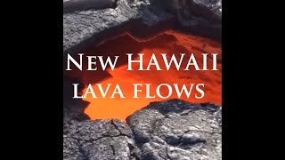 9/19/2014 -- Hawaii lava flow spreading -- Civil Defense Alert Update