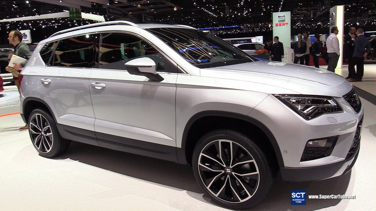 2018 seat ateca 4drive suv exterior and interior walkaround 2017 geneva motor show youtube. Black Bedroom Furniture Sets. Home Design Ideas