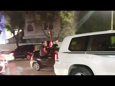 فرحة العراقيين بفوز فريقهم لكرة القدم ضد ايران  - 18:59-2019 / 11 / 14